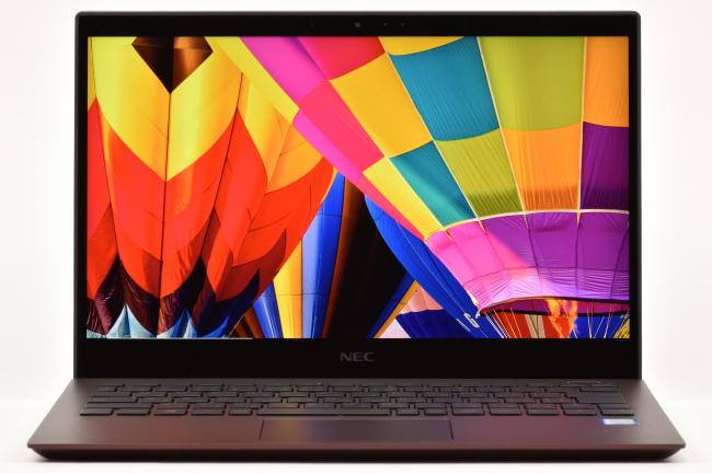 ディスプレイに描画された映像(気球)