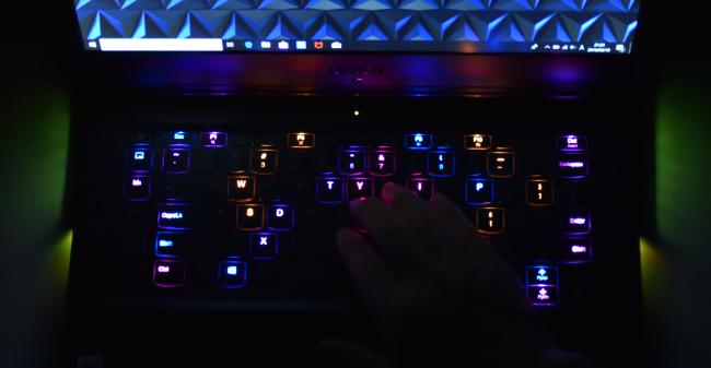 キーボードバックライト(その2)