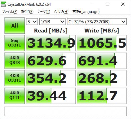 データ転送速度(IdeaPad S540 (15))