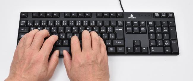 キーボードピッチのイメージ