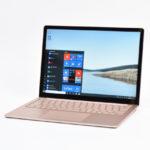 マイクロソフト Surface Laptop 3 レビュー(13.5インチ):圧倒的所有感を得られる完成度の高いモバイルノートPC