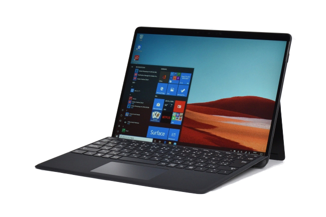 Surface Pro X 斜め
