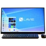 NEC LAVIE Direct HA(23) レビュー:カフェボードデザインが部屋空間にマッチする液晶一体型PC