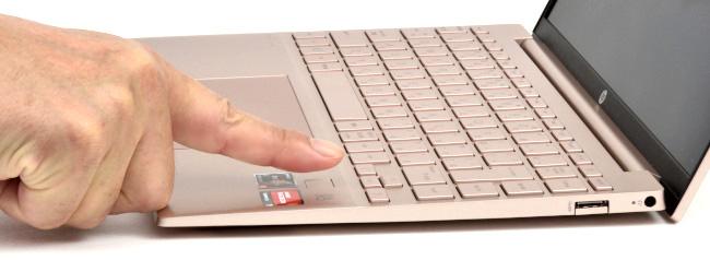 指紋認証でサインイン